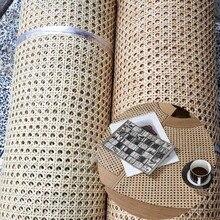 Натуральное индонезийское сырье из ротанга, восьмиугольный сетчатый коврик с шестигранным отверстием, плетеный тростник, плетеная ткань, м...