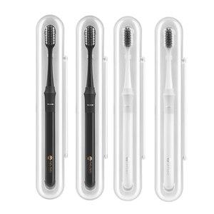 Image 2 - Оригинальная зубная щетка Youpin Doctor B с методом баса, улучшенная щетка, пара проводов, включая дорожную коробку для умного дома