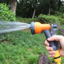 8 Стандартный садовый водяной пистолет шланг сопло многофункциональная