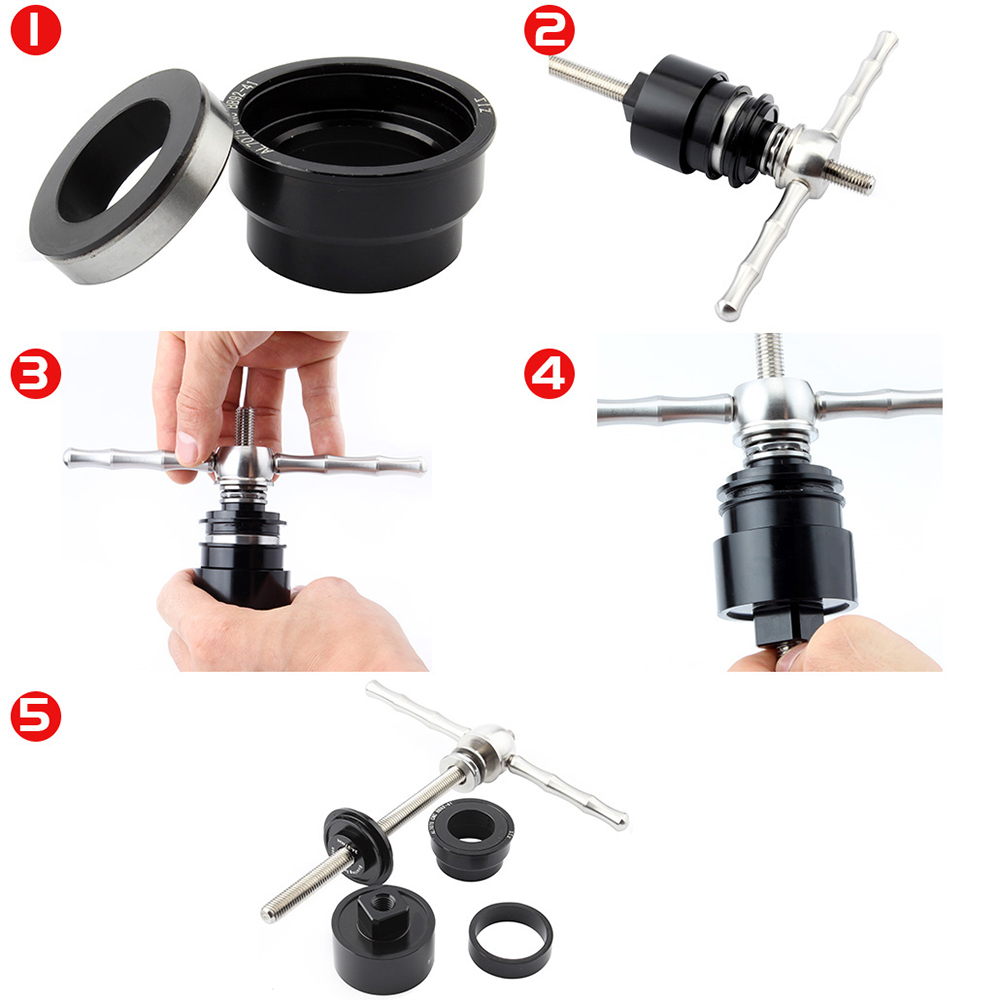 Basic Pro Aluminum alloy Bicycle shaft removal tool set For BB30 BB86 BB92