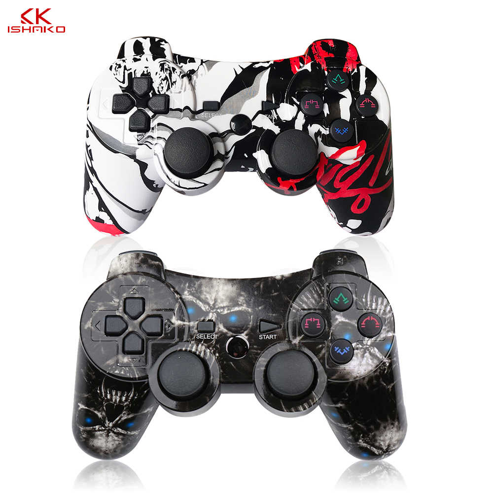 Wireless Bluetooth Gamepad For Sony Ps3 Controller Playstation3 Console Dualshock Game Joystick Joypad Gamepads Remote New Style Aliexpress