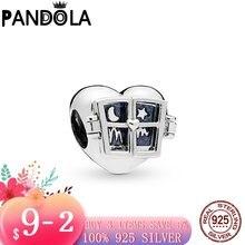 2020 новый 925 стерлингового серебра в форме сердца окна браслеты