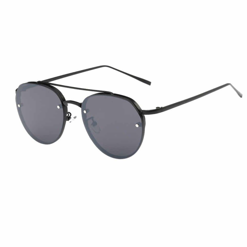 Moda Das Mulheres Dos Homens Dos Óculos De Sol Populares Óculos Unisex Rose Big Frame Retro dos óculos de Sol Do Vintage Óculos Cor #5 7