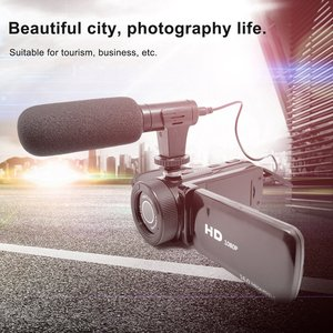 D100 High Definition Digital Video Camera With Microphone Wide-angle Lens For Household Travel Camera