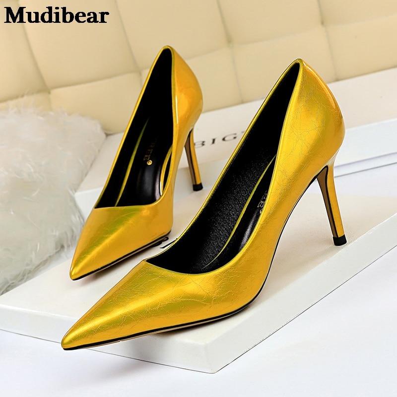 Купить туфли mudibear женские на танкетке пикантные туфли тонком высоком