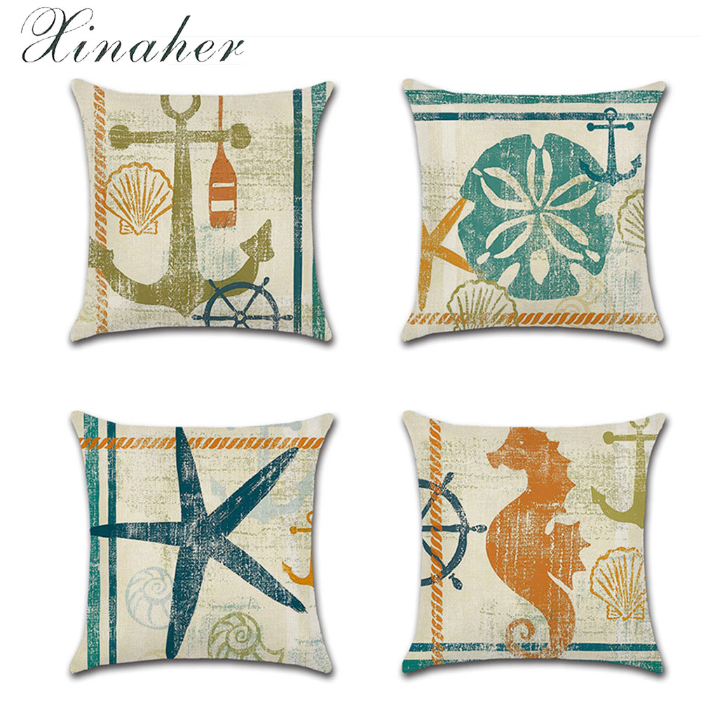 US SELLER ocean animal jellyfish cushion cover pillow covers decorative