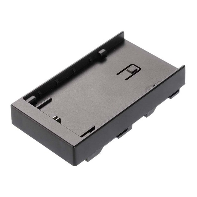 LP E6 Battery Plate Holder Converter for Fotga A50 T TL TLS Camera Field Monitor