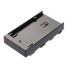 LP E6バッテリープレートホルダーコンバータfotga A50 t tl tlsカメラフィールドモニター
