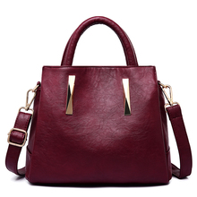 New Genuine Leather Crossbody Bags For Women 2019 Luxury Handbags Women Bag Designer Big Capacity Casual Tote Shoulder Bag Red недорого