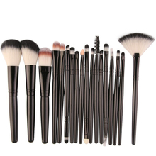18 Pcs Makeup Brushes Set Comestic Powder Foundation Blush Eyeshadow Eyeliner Lip Make up Brush Tools jessup buy 3 get 1 gift makeup brushes set foundation blush liquid kabuki eyeshadow eyeliner lip contour make up brush smudge