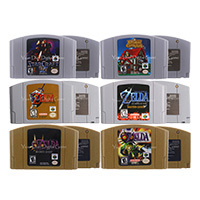 64ビットビデオゲームカートリッジゲームコンソールカードzeldシリーズ英語us版任天堂