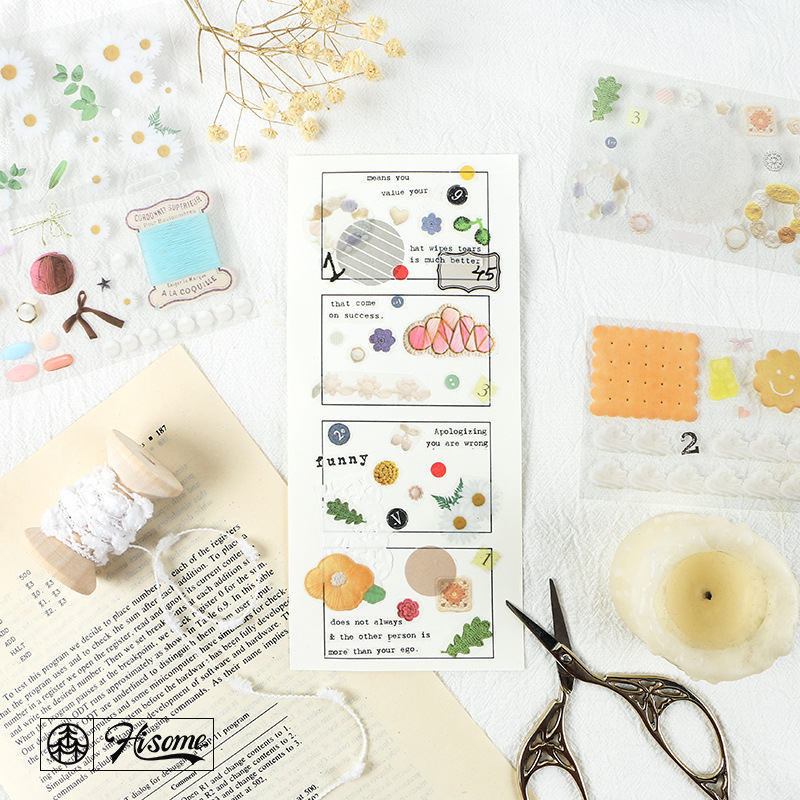 1set/1lot Washi Masking Tapes Selection Of Small Things Series Decorative Adhesive Scrapbooking DIY Paper Japanese Stickers