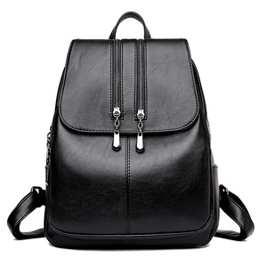 Image 5 - 2019 Kadın Deri Sırt Çantaları Yüksek Kaliteli seyahat omuz çantası Kadın Sırt çantası Vintage Sırt Çantası Bayanlar Kesesi Dps Kadın Sırt Çantası