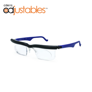 Adlens Focus Adjustable Reading Glasses Myopia Eyeglasses -4D to +5D Diopters Magnifying Variable Strength image