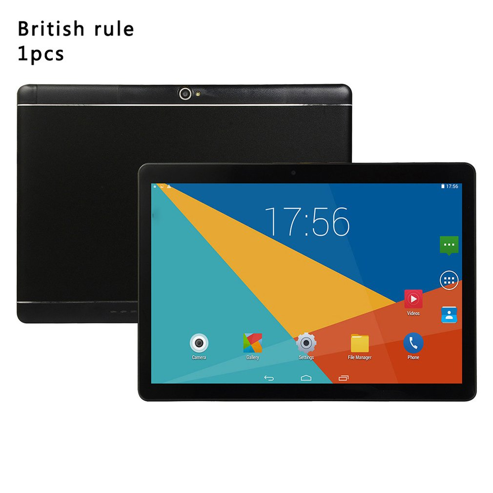 10 Inch Tablet Computer IPS HD Screen Wireless GPS Android Tablet IPS HD Screen 10-inch Tablet PC Round Hole
