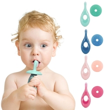 Kids Silicone Training Toothbrush Baby Dental Oral Care Tooth Brush Kids Teether H55B