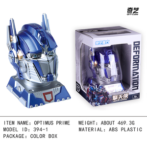 Image 4 - Qiyi High quality 12x15x20cm Bumblebee Optimus Prime Transformation Robot Head 2x2 Cube puzzle