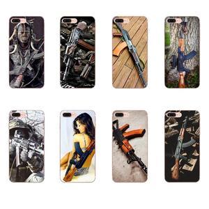 Мягкий чехол для мобильного телефона чехлы Чехол для huawei Honor 4C 5A 5C 5X6 6A 6X7 7A 7C 7X8 8C 8S 9 10 10i 20 20i Lite рro Ak-47