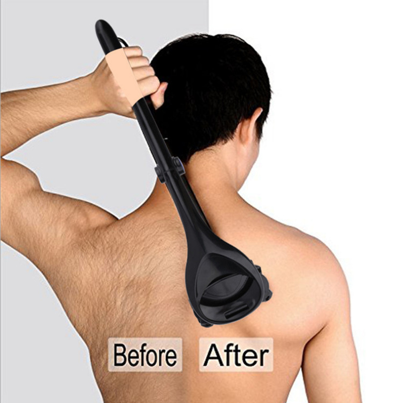 Shaver Men's Back Epilator Remove Large Area Hair Man Shaver Quick Hair Removal Give Men Gift Bath Tools Su133