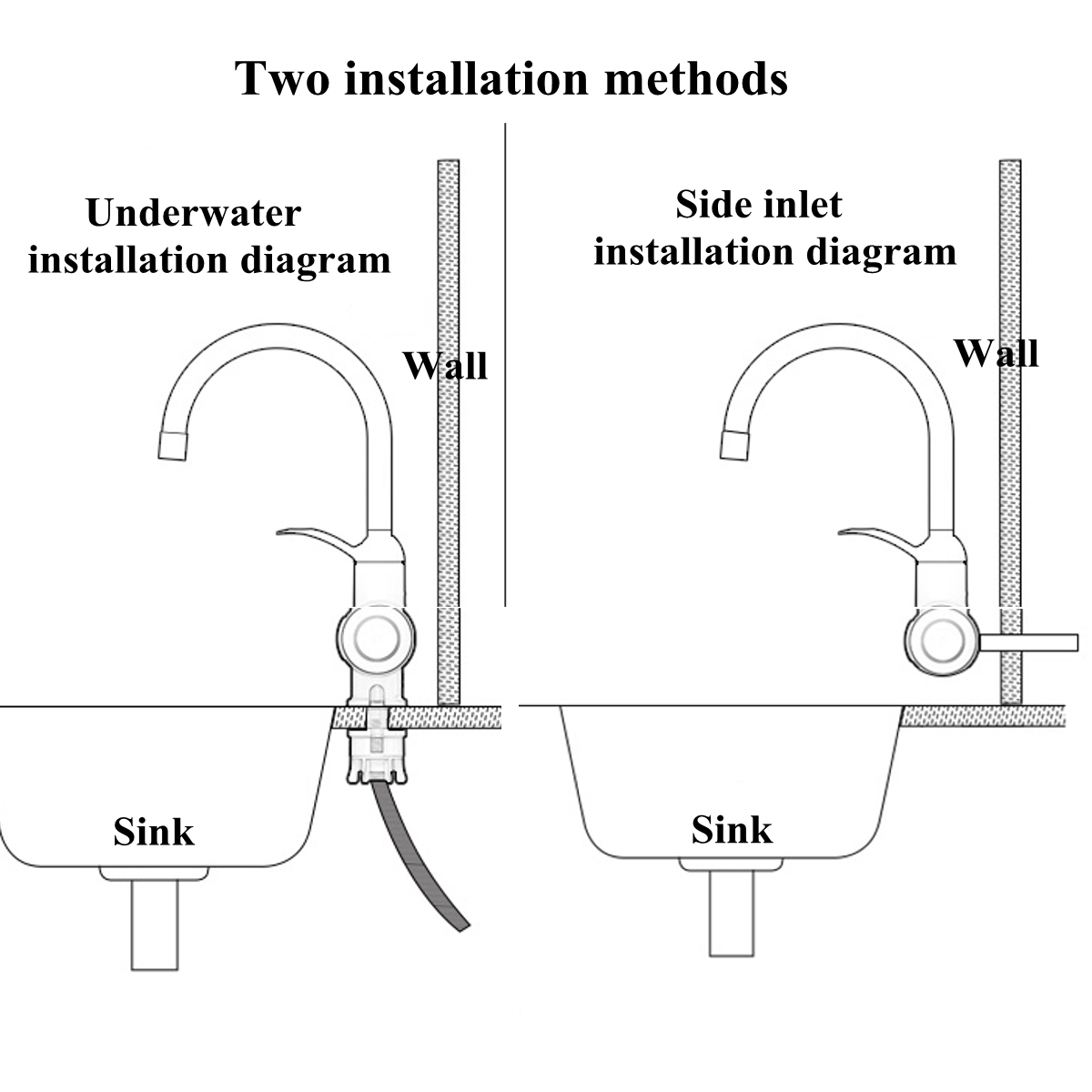 Instant Hot Water Heater Piping Diagram