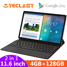 Teclast M16 2 in 1 Tablets 11.6″ Android Tablet PC Helio X27 Deca Core 4GB RAM 128G ROM 4G Network 8.0MP Docking Type-C HDMI