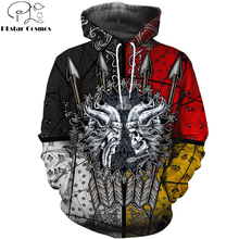 цена на 2020 New Fashion Men hoodies 3D All Over Printed Viking Tattoo T-shirt/Hoodie costume Unisex Casual Tracksuit streetwear WS-H99