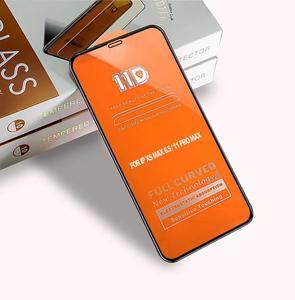 Image 5 - 10 pièces 11D verre trempé pour iPhone 11 pro max protecteur décran pour iPhone XXS Max XR 8 7 6s 6 plus Film de protection décran