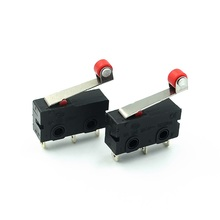Wheel-Mouse Ball-Wheel Sized Microswitch 10pcs/Lot Button Reset KW11-N Red KW12 Medium
