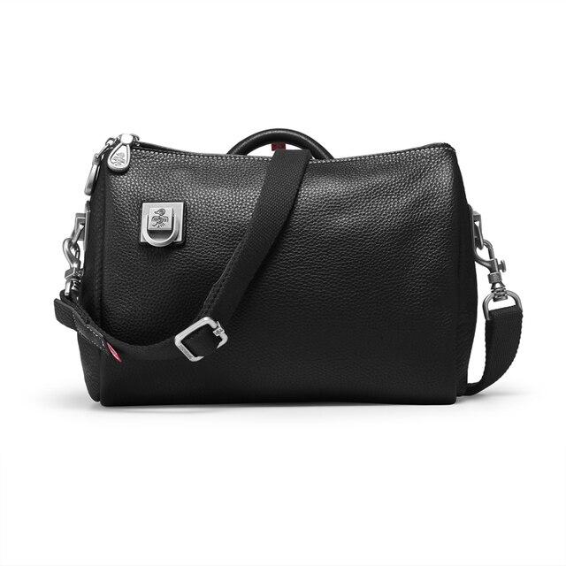 Orabird casual mulher balde sacos de couro genuíno macio grande capacidade luxo crossbody bolsa ombro feminino grande shopper saco