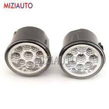 цена на MZORANGE 9W 6000K led Car fog lights For NISSAN TIIDA 2007-2009 2010 2011 SC11X CUBE Quest 2006-2012 fog light E2 12V DRL lamp