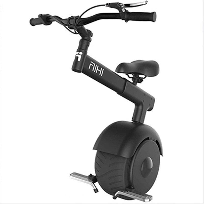 Moto électrique Scooter pour adultes une roue auto équilibrage Scooters 800W 60V pliable monocycle électrique monoroue avec siège