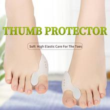 3ANGNI Toe Separator Silicone Gel Foot Fingers Straighter Thumb Correct Orthotics Daily Tube Sleeve Pedicure