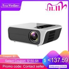Touyinger L7 LED الأصلي 1080P العارض كامل HD العلامات التجارية الصغيرة USB متعاطي المخدرات 4500 لومينز أندرويد 7.1 واي فاي بلوتوث السينما المنزلية HDMI