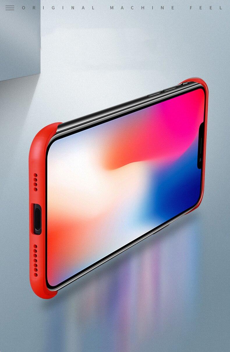 Frameless Slim Matte Hard Back Cases for iPhone 11/11 Pro/11 Pro Max 8