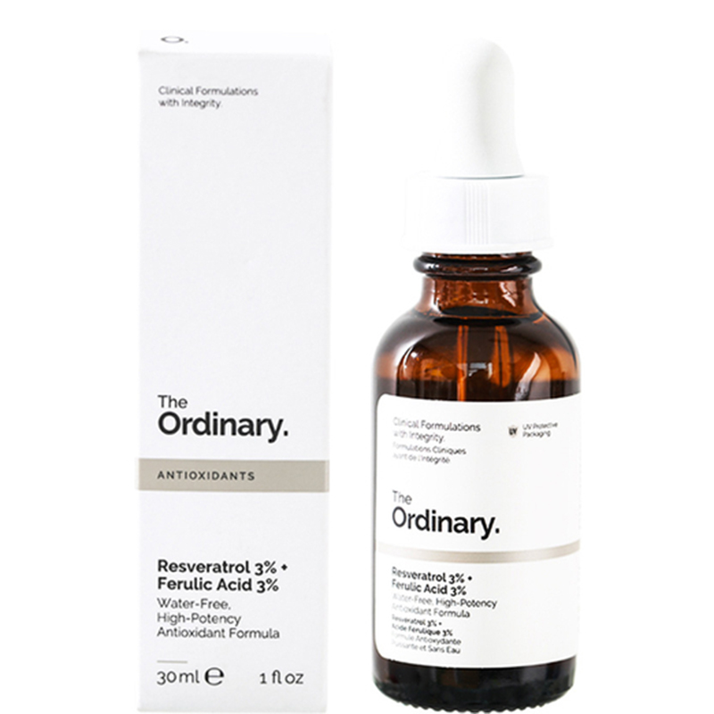 The Ordinary Serum 3 Resveratrol Ferulic 3 Essence Water Free Oil Control Anti Wrinkle Moisturizing Skin Care Makeup Base 30ml Lip Balm Aliexpress