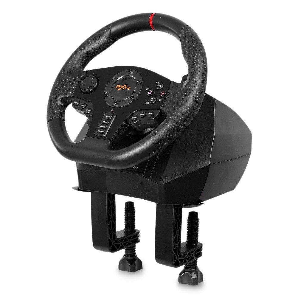 Original PXN PXN-V900 Gamepad controlador volante ordenador móvil de carreras de videojuegos vibración - 4