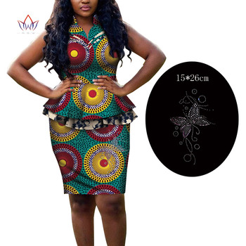Custom Skirt Suit 2 Piece Women Skirt And Top Sleeveless Robe En Wax Africain Femme Womens Clothing African Ladies Wear WY6339