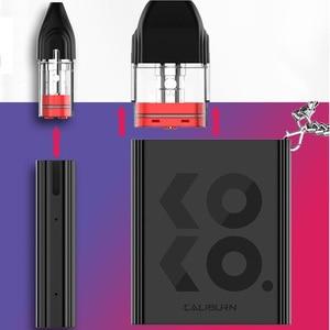 Image 5 - New Uwell Caliburn KOKO Pod System Kit Flavor Focused Vape 520mAh Battery 2mL Cartridge 11W Electronic Cigarette Vaporizer