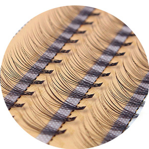 Image 5 - New 60 bundles Individual Cluster Eye Lashes Grafting Eyelash Extensions 0.1mm Thickness 6 14mm Length Available