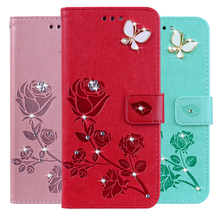 3D Flower Leather Case for Sony Xperia Sola MT27i Neo L MT25 MT25i Flip Wallet Phone Cover Case mt15i case luxury painted cartoon flip mobile phone case cover for sony ericsson xperia neo v mt11i mt15i case with view window