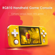 Console Game-Player Pocket Video-Game Retro Handheld Powkiddy Rgb10 Portable 2000 Ips-Screen