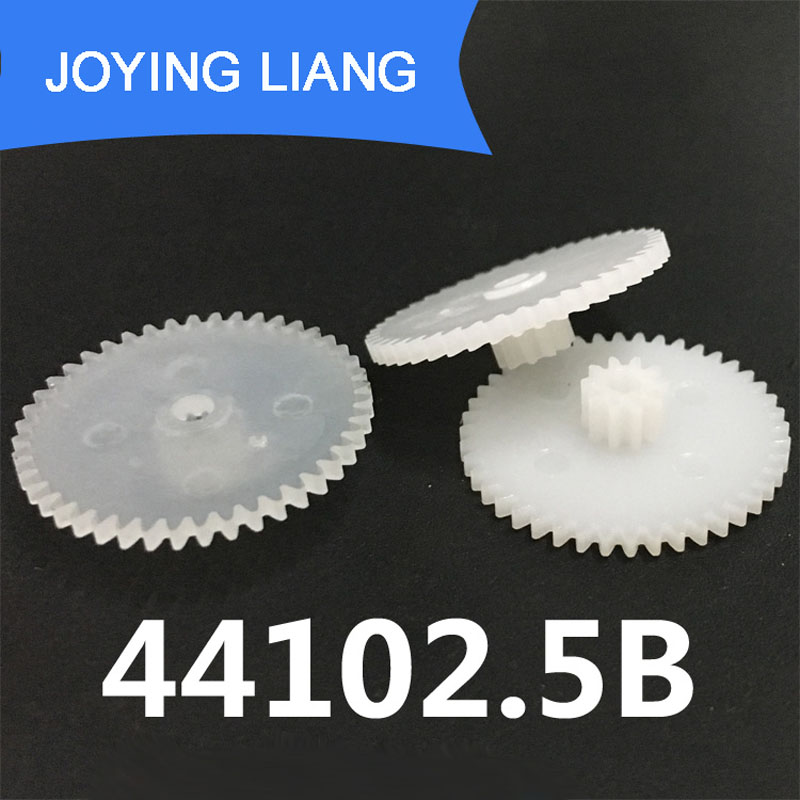44102.5B 0.5M Gears Big Diameter 23mm Small D=6mm Double Layer Gear Parts 2.5mm Shaft Hole Parts 10pcs/lot