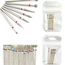 Nail-Drill-Bit Files Nail-Tools-Accessories Pedicure Cuticle-Burr Milling-Cutters Diamond