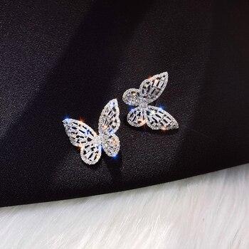 New Design Hot Sale Fashion Jewelry Premium Luxury Zircon Earrings Smart Butterfly Earrings for women gift.jpg 350x350 - New Design Hot Sale Fashion Jewelry Premium Luxury Zircon Earrings Smart Butterfly Earrings for women gift