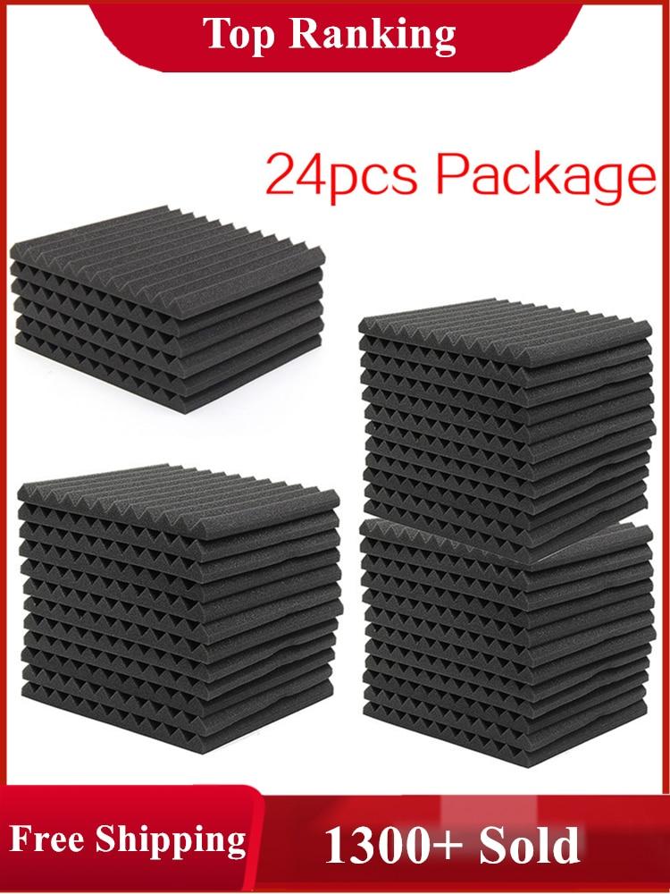 Acoustic Treatment-Panel Protective-Sponge Foam-Sound Absorption Proofing 300x300x25mm-Studio