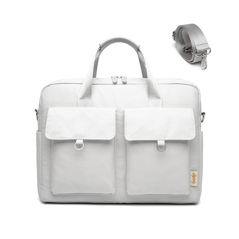 Double airbag <font><b>Bag</b></font> for <font><b>Laptop</b></font> <font><b>bag</b></font> women 13 <font><b>13.3</b></font> 14 15 15.6 inch Fashion Messenger Shoulder Computer <font><b>Laptops</b></font> <font><b>bag</b></font> Men image