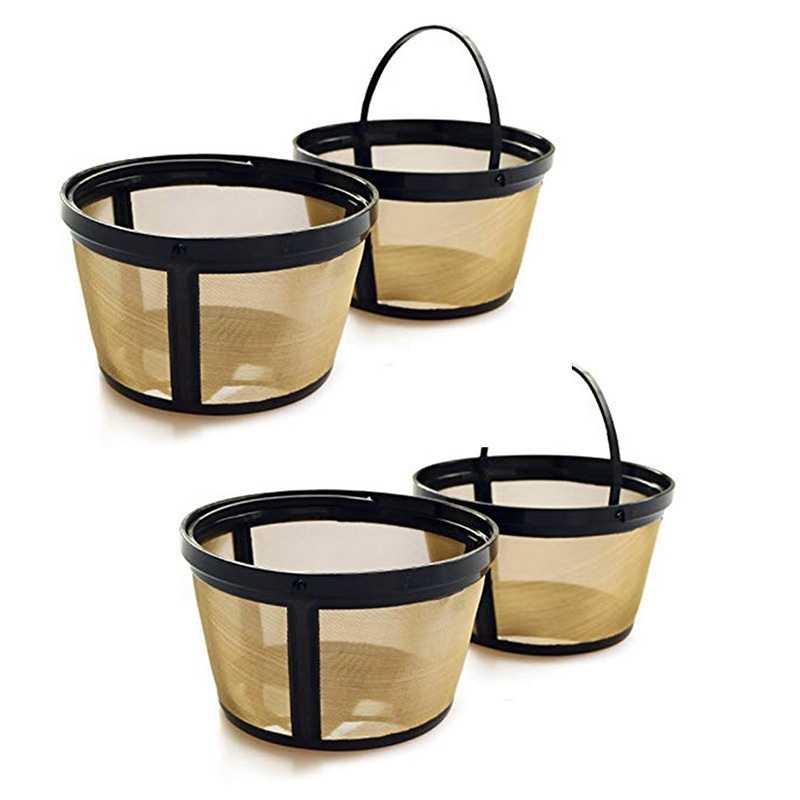قابلة لإعادة الاستخدام 4 كوب سلة للسيد القهوة استبدال فلتر القهوة-للسيد القهوة فلتر القهوة الدائم للسيد صانع القهوة و