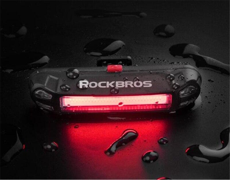 ROCKBROS-Luz LED trasera para bicicleta, resistente al agua, recargable, 8 horas, luz roja de advertencia y niebla para ciclismo Para KIA SPORTAGE (K00) 1994-2003 Gas cargado trasero maletero resortes de elevación de Gas fibra de carbono soporte amortiguador 410,5mm