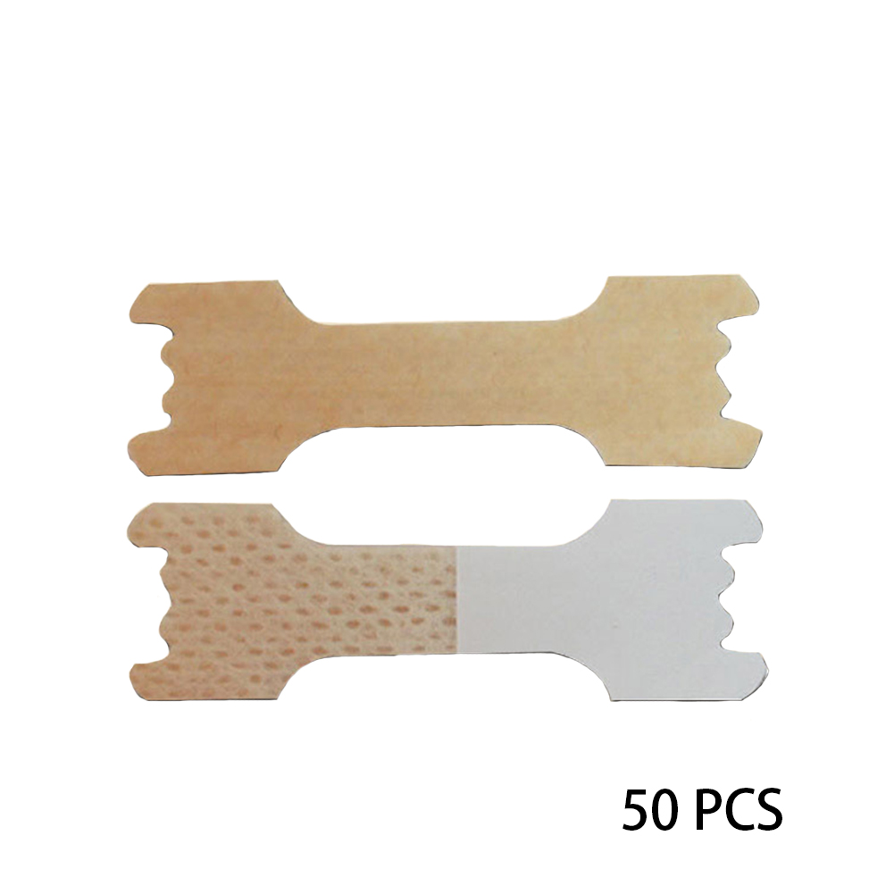 50 Pcs Health Care Sleep Nose Portable Nasal Strips Non-woven Fabric Anti Snoring Stickers Home Easy Use Breathe Patch Adult