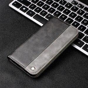 Роскошный чехол-бумажник из искусственной кожи для Huawei P40 Lite P30 Pro Mate 20 P30Lite, чехол с откидной крышкой в деловом ретро стиле, Магнитный чехол дл...